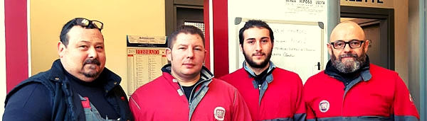 Officina Marcon a Spinea - lo staff